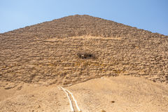 The Red pyramid of Dahshur in Giza, Egypt Royalty Free Stock Photo