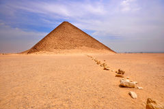 Red Pyramid , Dashur , Egypt Royalty Free Stock Photography