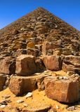 Red pyramid of Sneferu at Dahshur, Cairo, Egypt. Red pyramid of King Sneferu at Dahshur, Cairo, Egypt Royalty Free Stock Image
