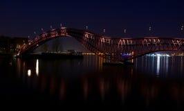 Red Python Bridge Stock Images