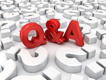 Free Red Q And A Text Or Questions And Answers Concept Among White Question Marks Over White Background Royalty Free Stock Photo - 161701505