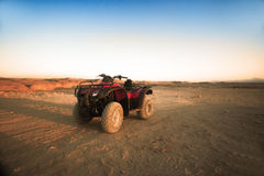 Red quad Royalty Free Stock Images