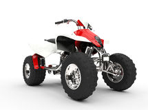Red Quad - Front View Stock Images