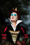 Red Queen. From a fairy tale Alice in Wonderland Stock Photography