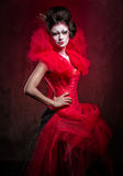 Red Queen Royalty Free Stock Photo
