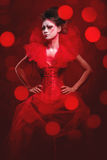 Red Queen Royalty Free Stock Photography