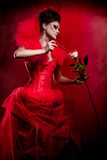 Red Queen Stock Photography