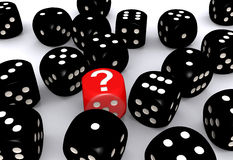 Image result for dice and question marks