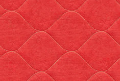 Red quilt Royalty Free Stock Images