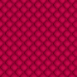 Red quilted background Royalty Free Stock Images