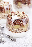 Red Quinoa Parfait Royalty Free Stock Photo