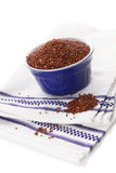 Red Quinoa seeds. Stock Images