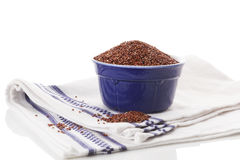 Red Quinoa seeds. Royalty Free Stock Photos