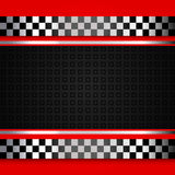 Red race background Stock Photo