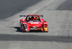 Red race car Stock Photos