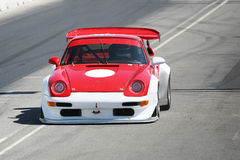 Red race car Royalty Free Stock Photography