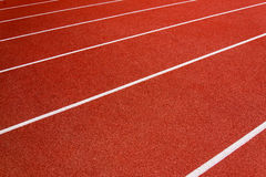 Red race for running. Red race track in an arena,High resolution royalty free stock photos