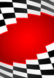 Red racing background Royalty Free Stock Image
