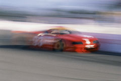 Red Racing Car Stock Images