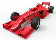 Red racing car Royalty Free Stock Photos