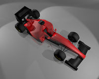 Red racing car Stock Image