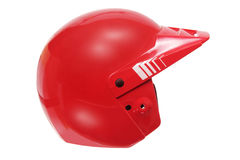 Red Racing Helmet Royalty Free Stock Image