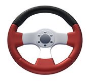 Red Racing Wheel Stock Photos
