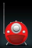 Red Radio Stock Photography
