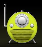 Red Radio Stock Photography
