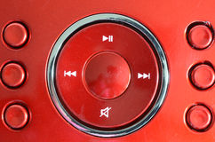 Free Red Radio Buttons Stock Photography - 54952782