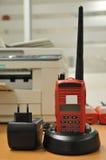 Red radio communication Royalty Free Stock Photography