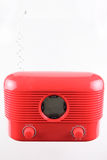 Red radio receiver Stock Photography