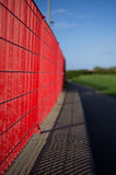 Red Railings Stock Image