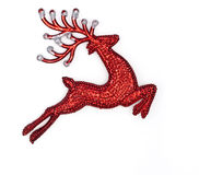 Red raindeer Royalty Free Stock Image