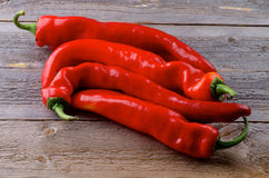 Red Ramiro Peppers Royalty Free Stock Photography