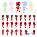 Red Ranger Stock Photo