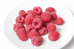 Red raspberry Stock Photography