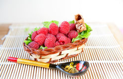 Red raspberry Royalty Free Stock Photos