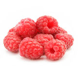 Red raspberry fruits isolated Royalty Free Stock Image