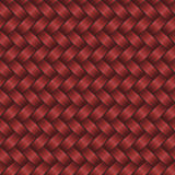 Red rattan background Royalty Free Stock Photo