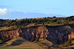 Red ravine from Romania Royalty Free Stock Photos
