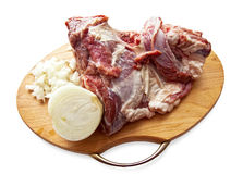 Red raw meat Royalty Free Stock Photos