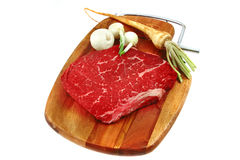 Red raw meat Royalty Free Stock Photography