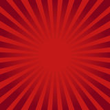 Red ray sunburst style abstract background Royalty Free Stock Images