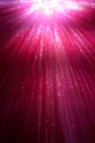 Red rays bokeh. Red rays and light bokeh background Royalty Free Stock Photo