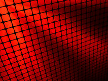 Red rays light 3D mosaic. EPS 8 Stock Photos