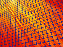 Red rays light 3D mosaic. EPS 8. Vector file included Royalty Free Stock Images