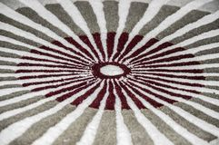 Red rays like pattern Royalty Free Stock Photo