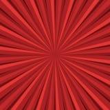 Red rays retro background. Vintage pop art illustration vector illustration
