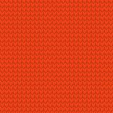Red realistic seamless knit pattern. EPS 10 vector Royalty Free Stock Photography